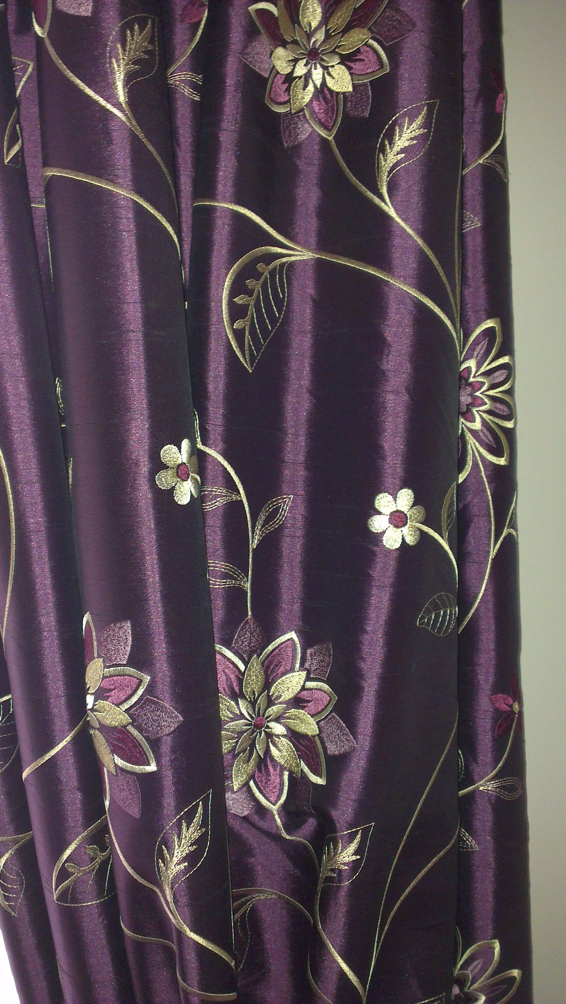 Purple butterfly curtains - Purple Velvet Curtain 17 Best Images About Ideas For The Front Room On Pinterest Butterfly