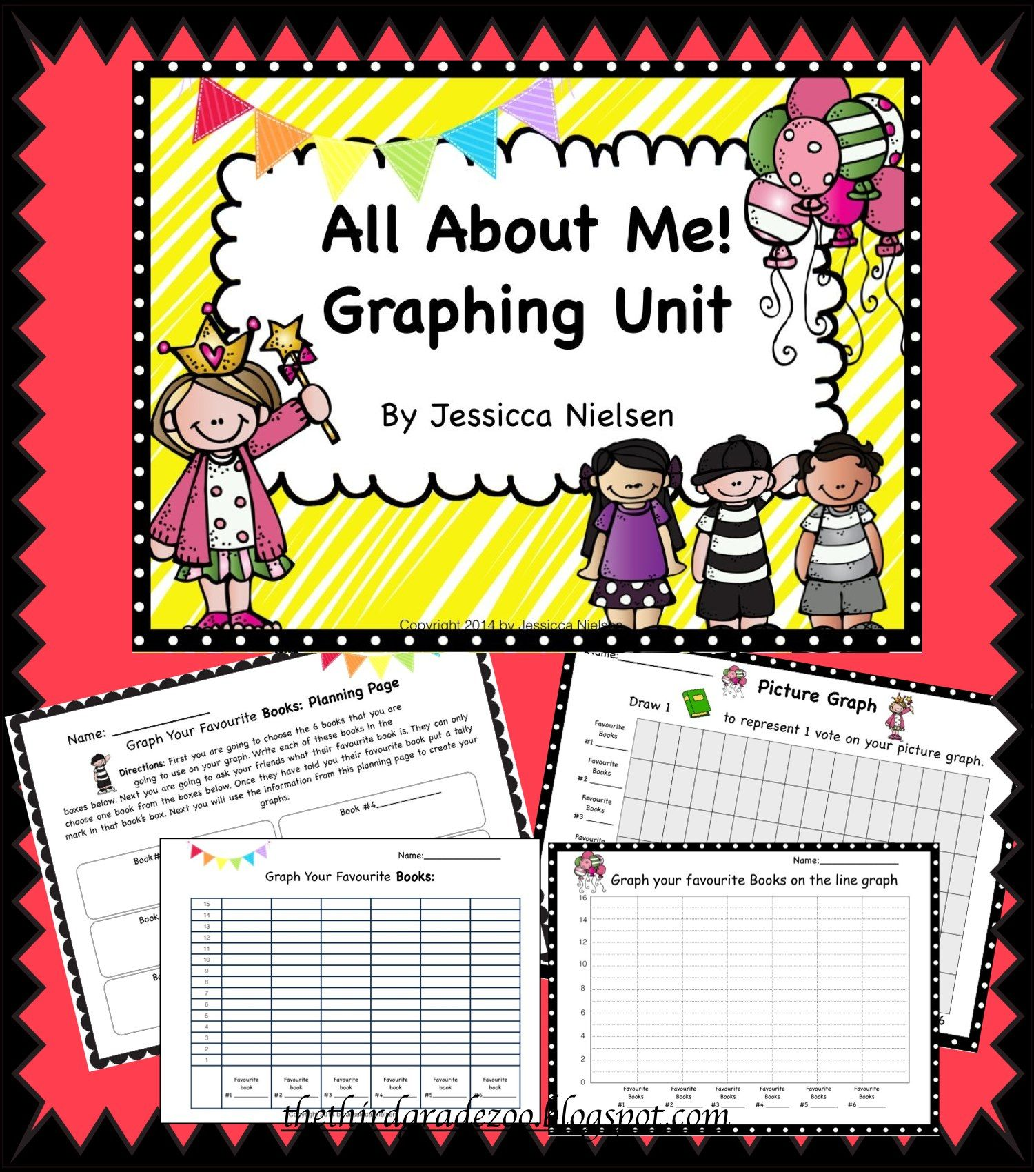 All About Me Graphing Unit