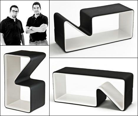 NY Design Week 09: ICFF - 2CC's MUKA Multifunctional Furniture - Core77