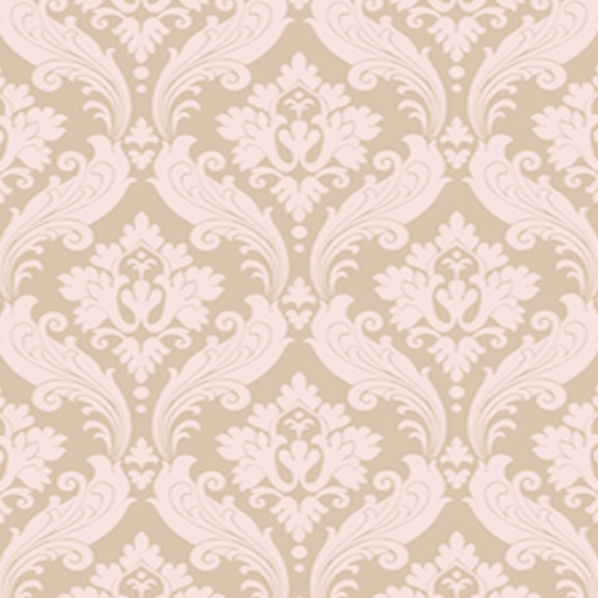 Vintage Flock Kelly Hoppen Wallpapers A Richly Detailed Faux Flock Damask Design Sumptuous Colours Given A Rich Feel To Pattern