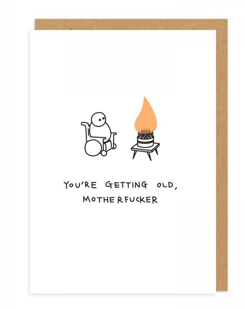 Demotivierende geburtstagskarten mit biss diy ideen pinterest these rude demotivating greeting cards are kind of perfect kristyandbryce Choice Image