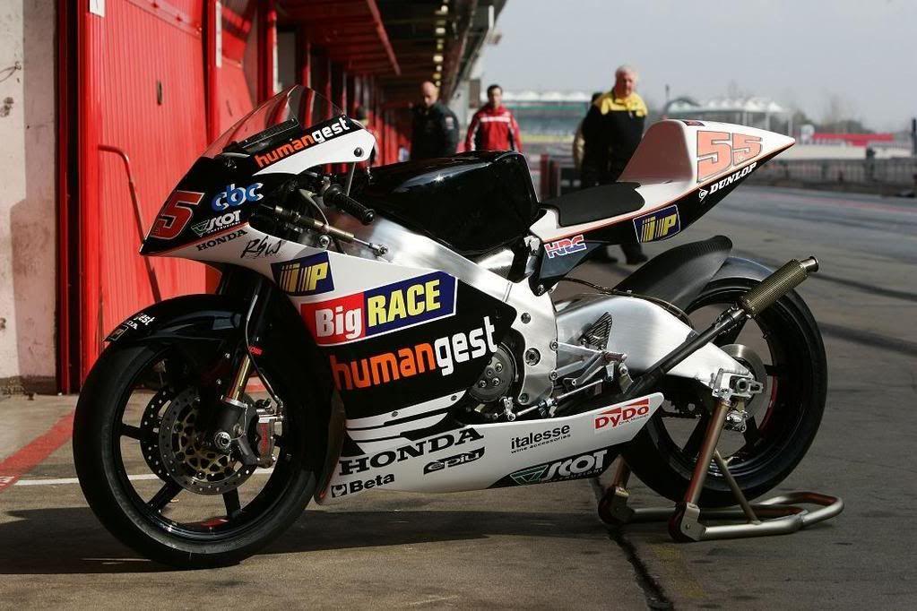 Honda Racing Moto Gp: HumanGest Racing Team Honda NSR250