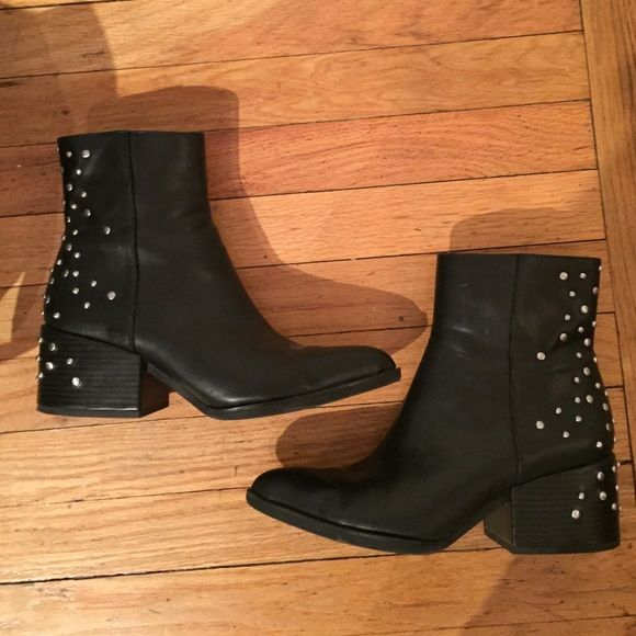 16d44cba96e5e Circus by Sam Edelman  Rae  Studded Bootie Circus by Sam Edelman  Rae  black  studded Bootie. Good condition. Missing one tiny circular stud on each  Bootie ...