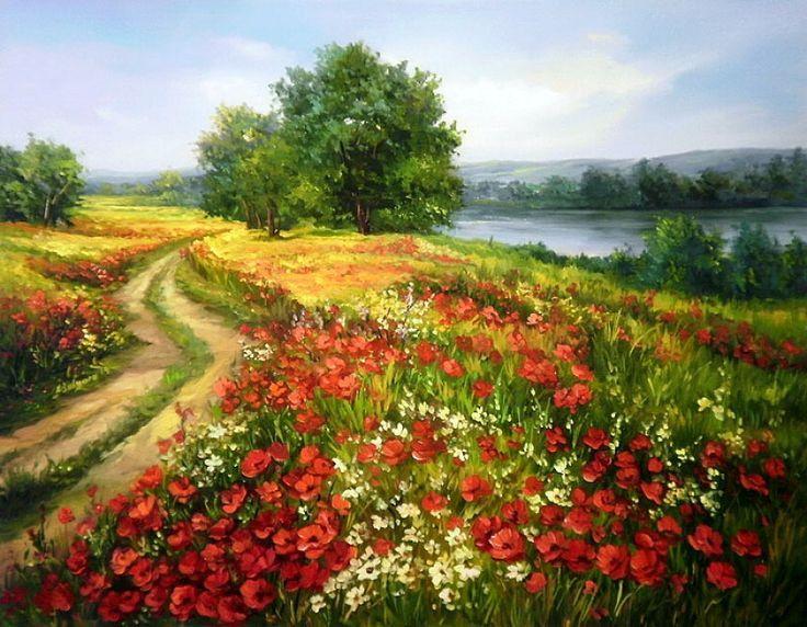 1329 Best Manzara Boyama Images On Pinterest In 2020 Scenery