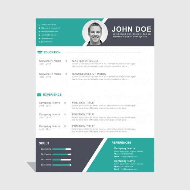 Epingle Par Michael Nimaga Sur Designe Resume Design Resume Et Cv