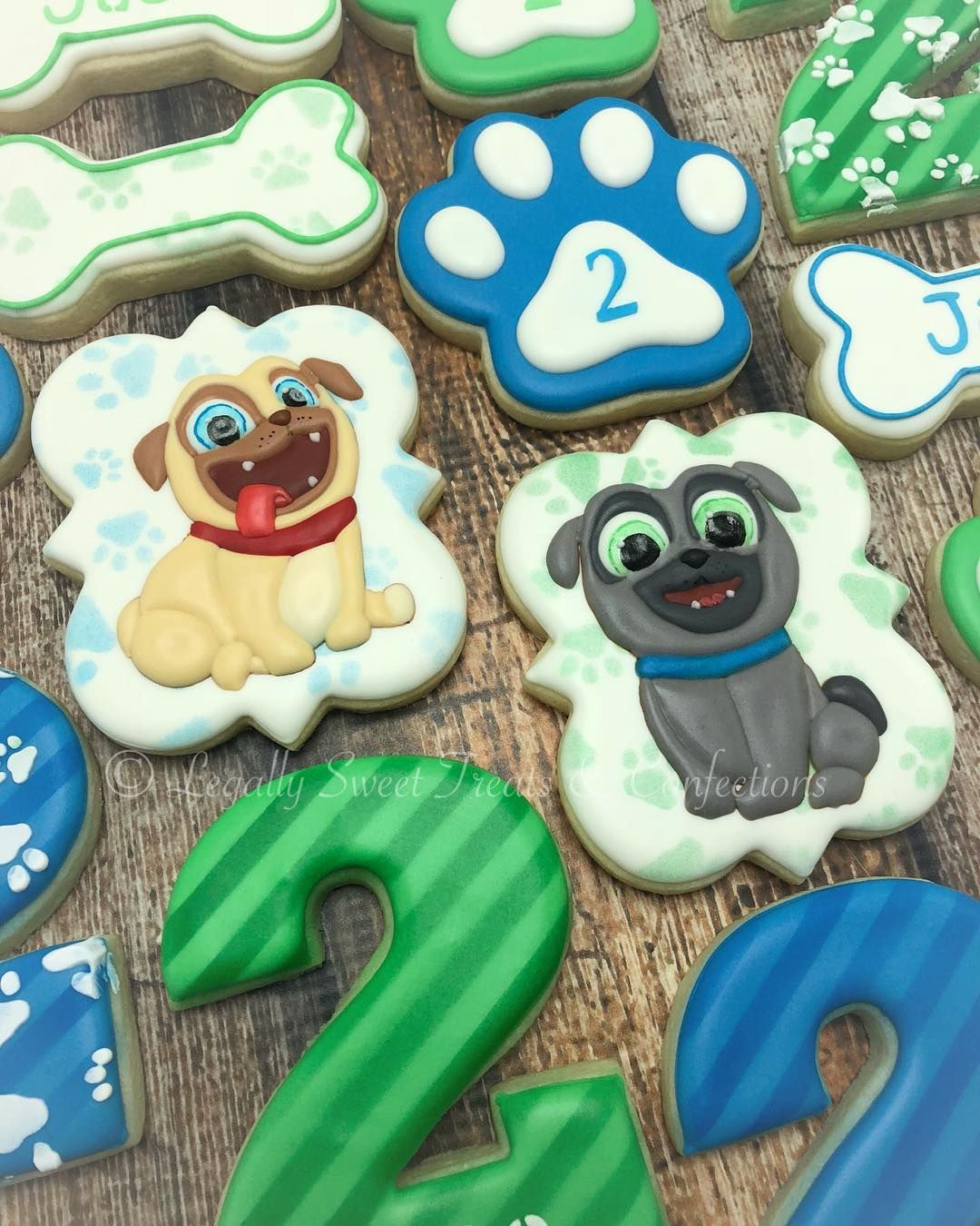 Legally Sweet Treats Conf On Instagram Puppy Dog Pals Birthday