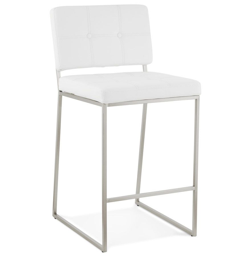 Good A Retro Chic Bar Stool Featuring A Brushed Metal Frame And High Quality  Faux Leather, This Piece Is An Ideal Addition To Any Kitchen Or Bar.