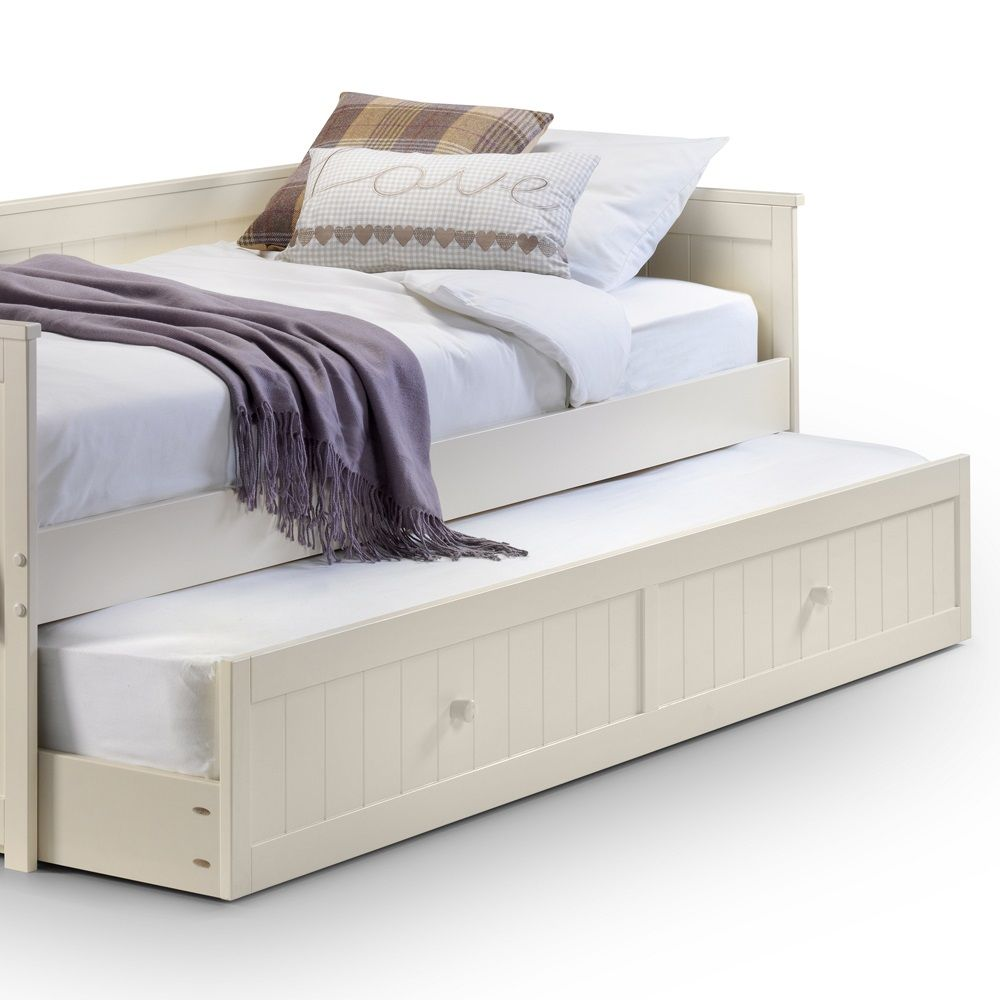 Childrens Beds With Pull Out Bed Underneath Jessica Day Bed With Additional Trundle Bed By Julian Bowen In
