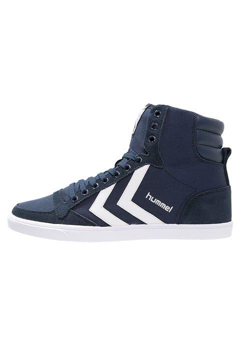 Hummel SLIMMER STADIL - Sneaker high - dress blue/white - Zalando.de