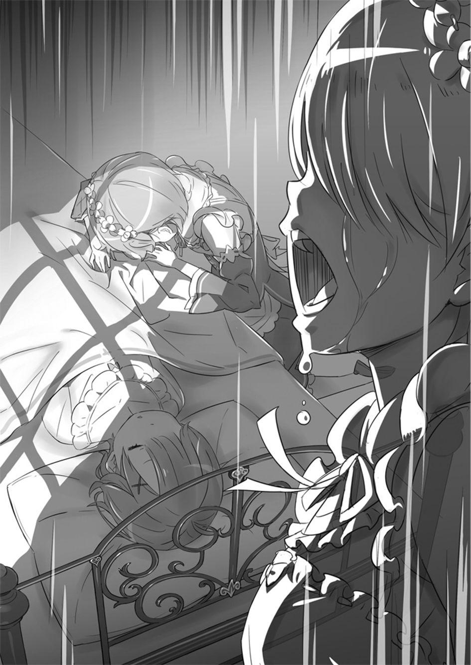 Manga- Re:Zero Characters- Rem and Ram | Re:Zero | Light ...