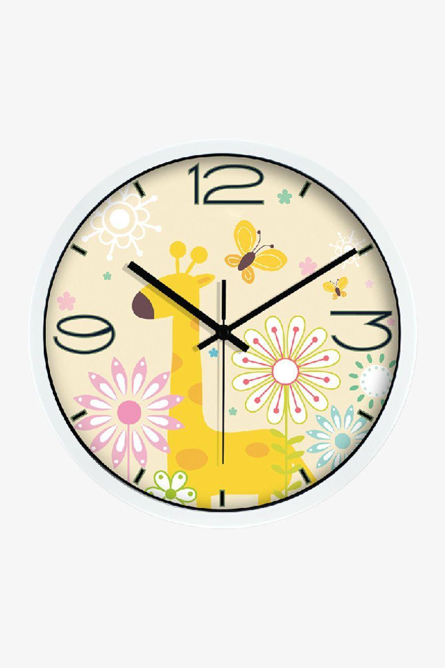 Giraffe Art Clock White | Art walls, Wall clocks and Clocks