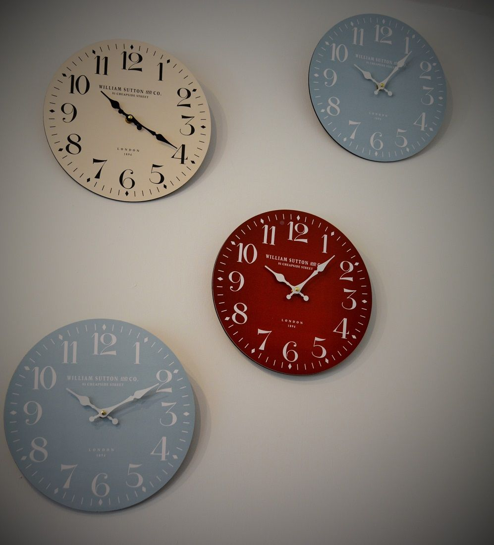Funky Large Wall Clocks On Sale At The Hever Castle Courtyard Shop