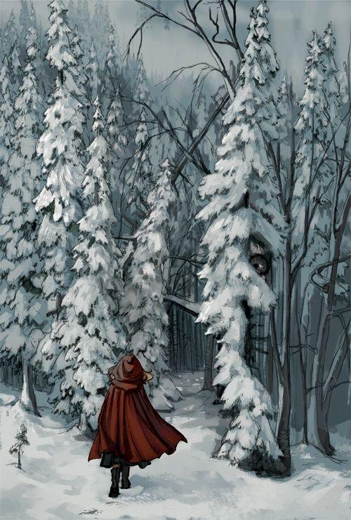 LITTLE RED RIDING HOOD ERIKA STEISKAL