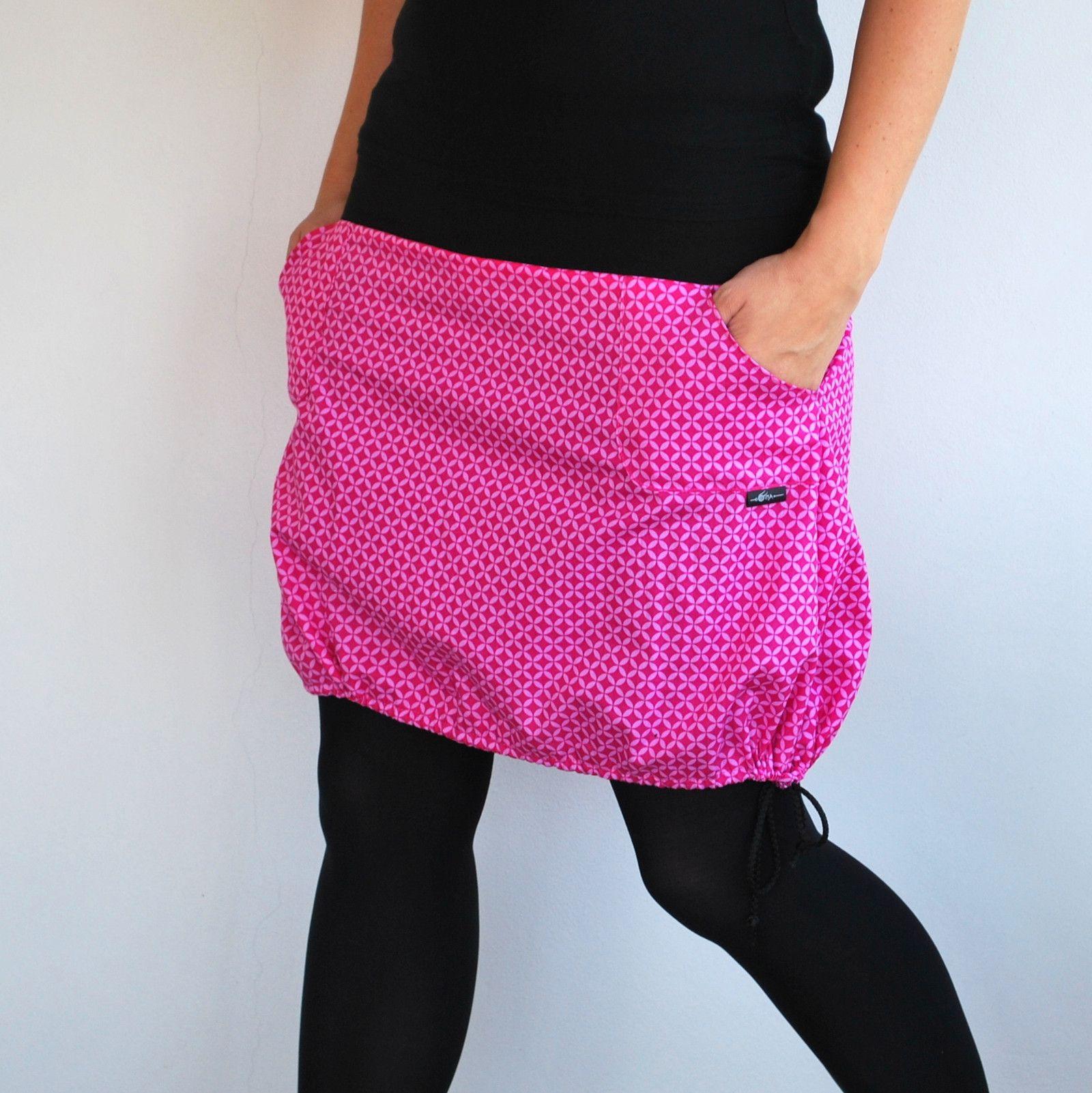 0616bcffa3c8 Růžová+do+balónku+i+do+áčka+Krátká+sukně+z+krásné+bavlněné