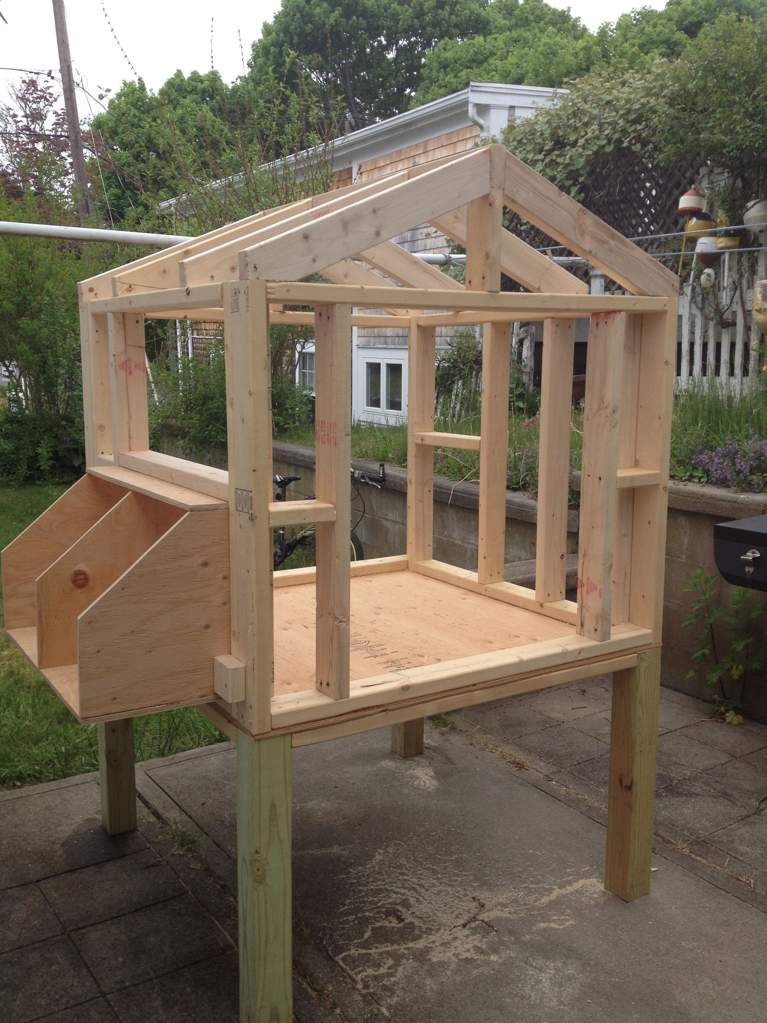Backyard Chicken Coop Plans Backyard Chicken Coops: The Coop Framework Building A Chicken Coop Does Not Have To Be