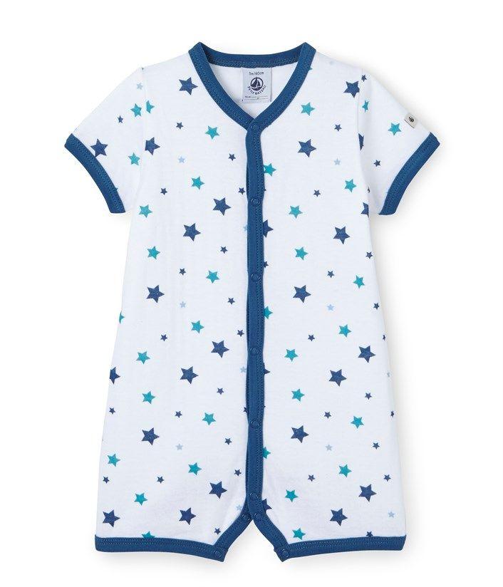 c6c32ae3210dc Combicourt bébé garçon imprimé blanc Ecume   blanc Multico. Retrouvez notre  gamme de vêtements et sous-vêtements pour bébé