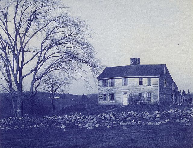 Old colonial home