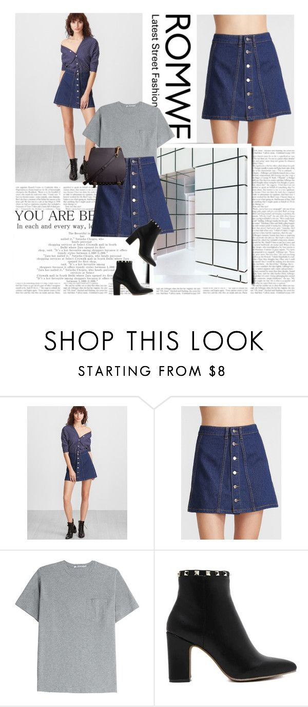 """""""04/01/2017"""" by qarlla ❤ liked on Polyvore featuring T By Alexander Wang, Burberry and shein"""