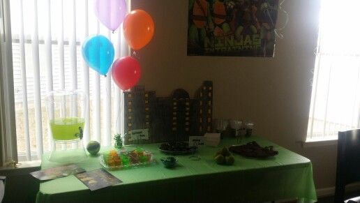 Ninja Turtles decoration ideas