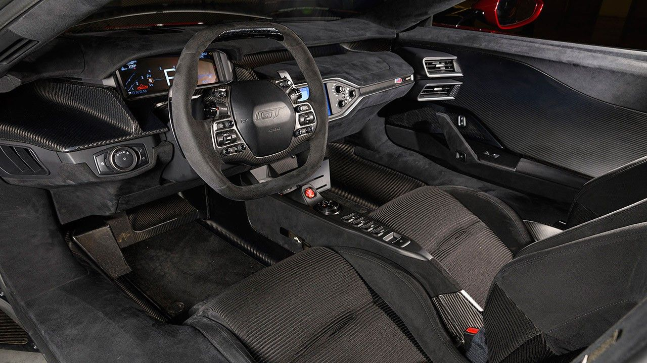 2017 Ford Gt Supercar Interior 2020 Live Wallpaper Hd Ford Gt Super Cars Ford