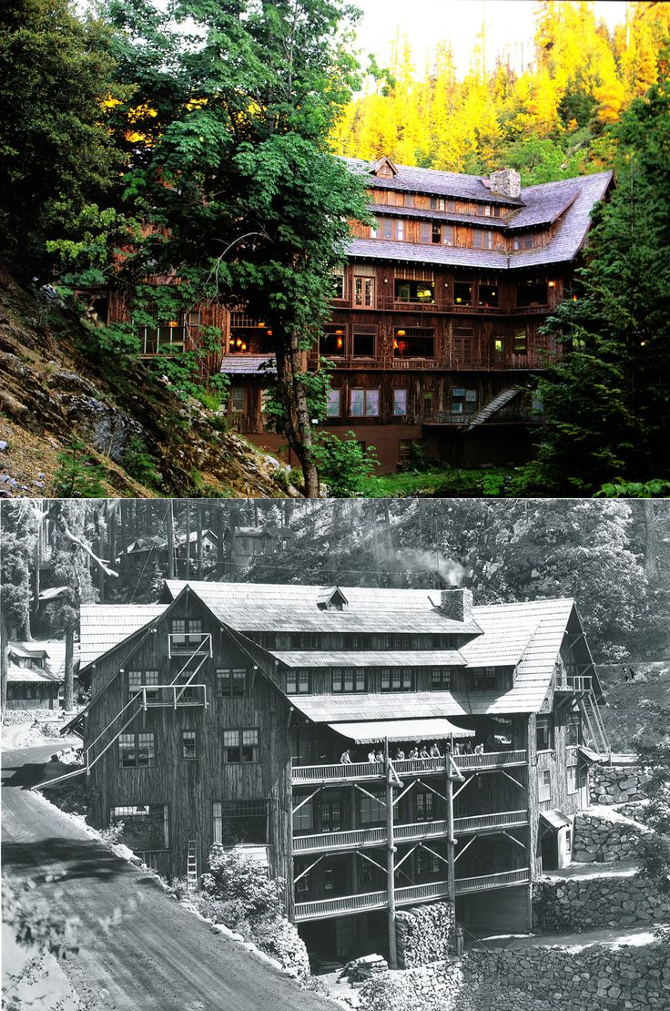 Oregon Caves Chateau Built In 1934 It Is Built Between The Steep Banks Of A Creek Bed Spanning The Places Of Interest Southern Oregon Unexplained Mysteries