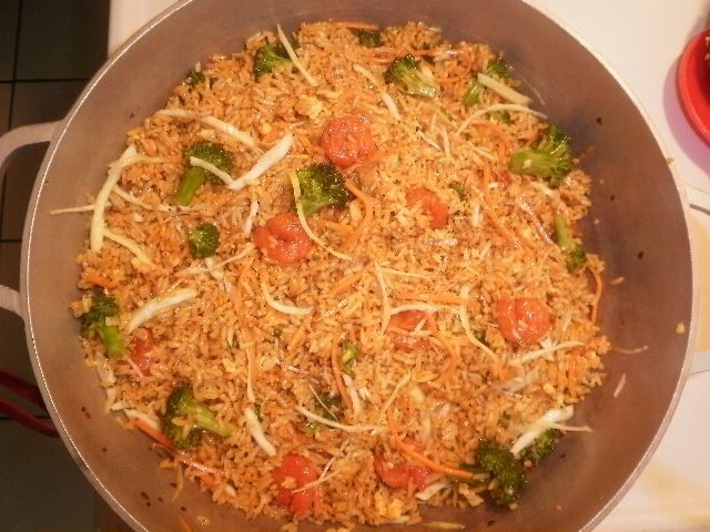 guyanese style fried rice   Guyanese recipes, Indian food ...