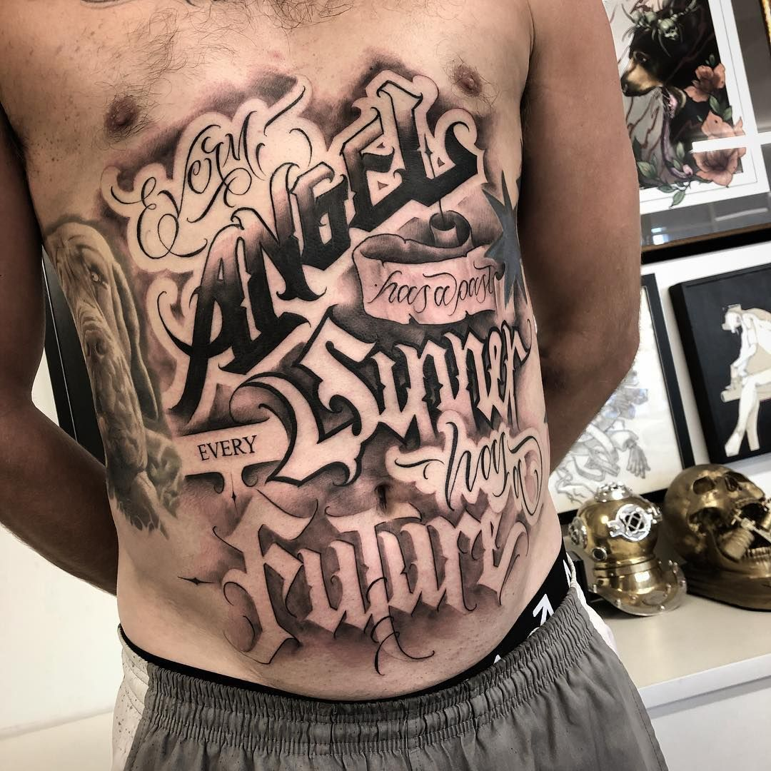 Mystiks Art Gmail Com For Bookings And Enquiries Thanks Again Trigger For Toughin This Out Mate And All T Tattoo Lettering Design Tattoo Lettering Tattoos