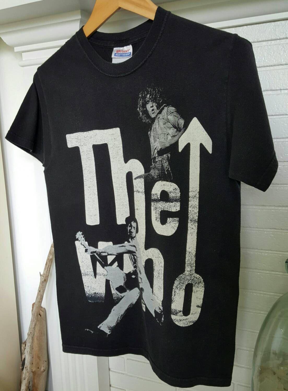 Black sabbath t shirt etsy - The Who Shirt Who Shirts Band Concert T Shirt By Resouledgypsy On Etsy