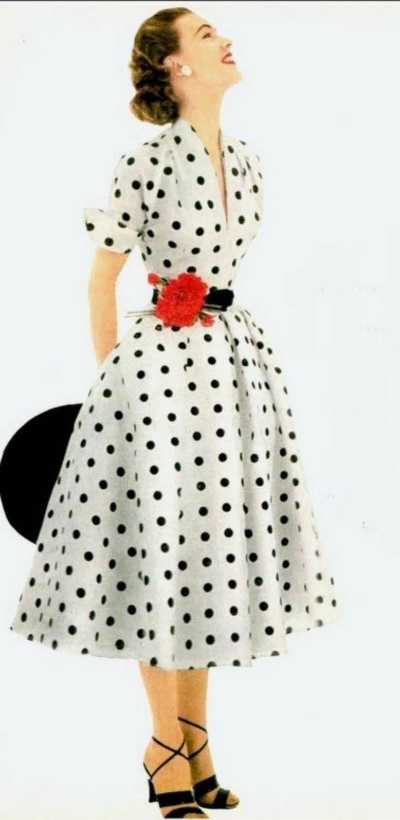 b5622d196 Amazing 48 Ways to Wear Cute Outfit with Polka Dot Dress https   vialaven