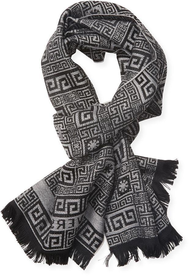 7a272e55522 Versace Men s Wool Scarf Versace Pour Hommes