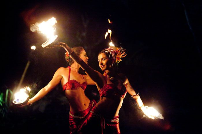 Hawaii Fire Dance
