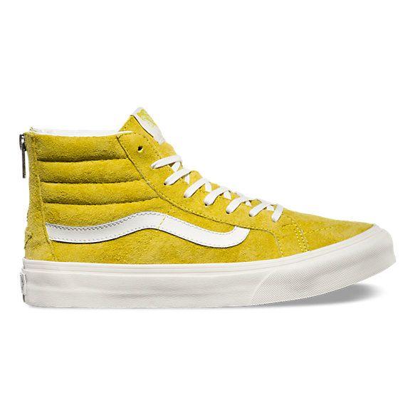 chaussure vans jaune homme