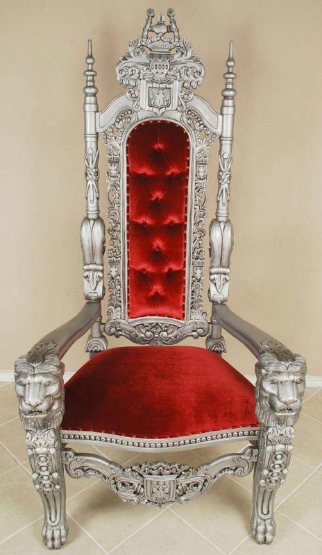 Mommy I Want Dat Droooooooooooooooooooooooollllll Carved Mahogany Lion Head Gothic Throne Chair King Sr Ebay Throne Chair King Throne Chair Chair