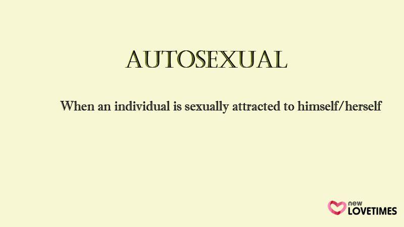 Autosexual definicion