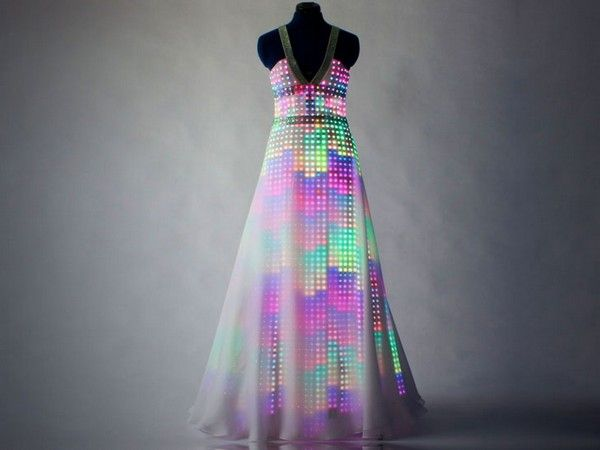 Dress with LED..Cute!