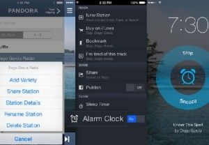 Pandora ios App Alarm Feature On Android coming soon