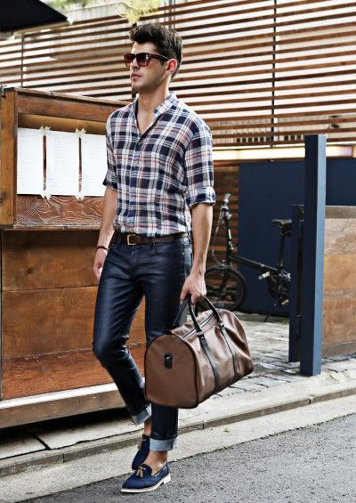 9603cb6b 3 COLOR PLAID SHIRTS #strunway #casual #menstyle #menswear | northen ...