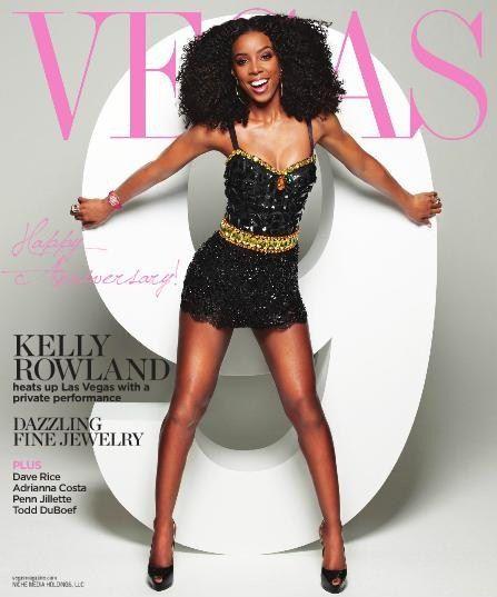 Kelly Rowland for VEGAS Magazine.