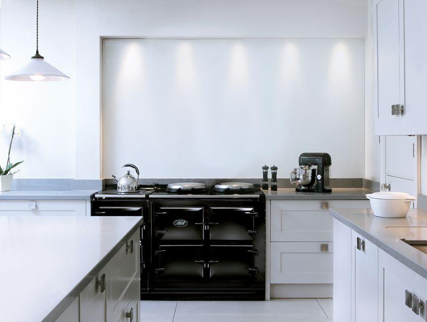 Best Aga Total Control 5 Oven Range Cooker Tc5 In Black 400 x 300