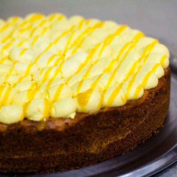 Mangovo - limetkový cheesecake