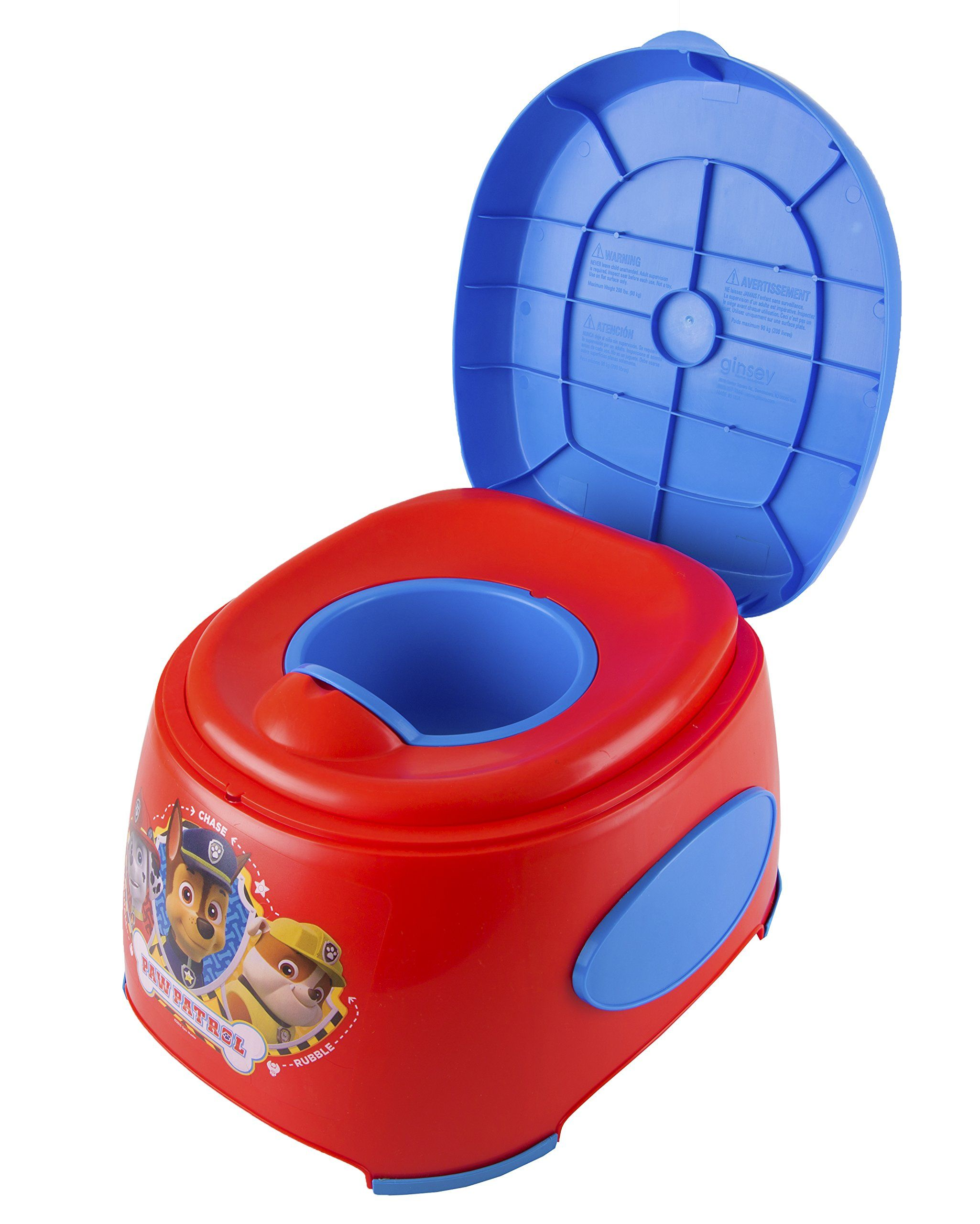 Nickelodeon Paw Patrol 3-In-1 Potty Trainer Red//Blue