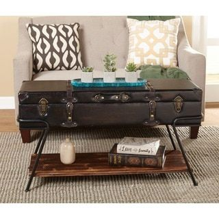 Shop For Simple Living Trunk Coffee Table Get Free Shipping At Overstock