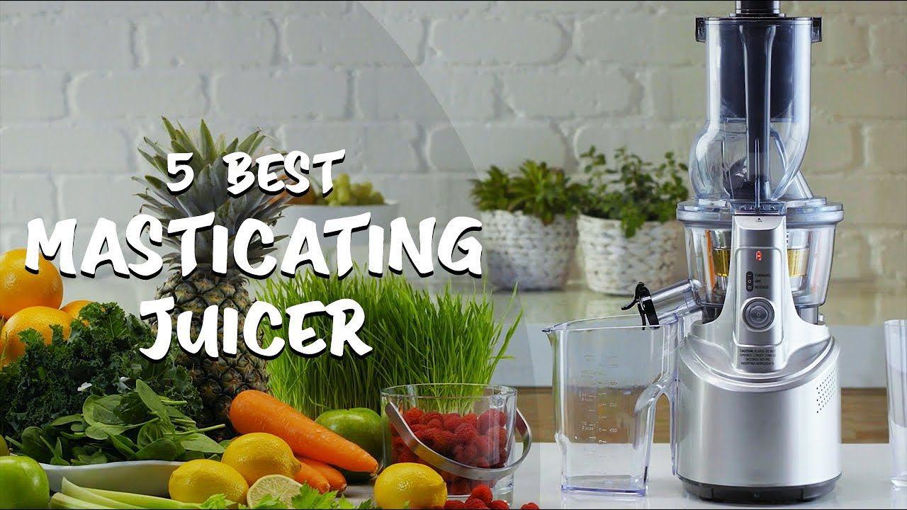 best masticating juicer best