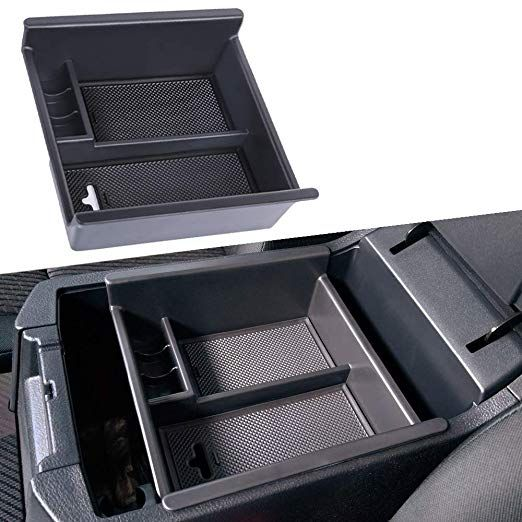 Amazon.com: JDMCAR Center Console Organizer Compatible with Toyota 4Runner (2010-2019 2020), Insert ABS Black Materials Tray, Armrest Box Secondary Storage: Automotive