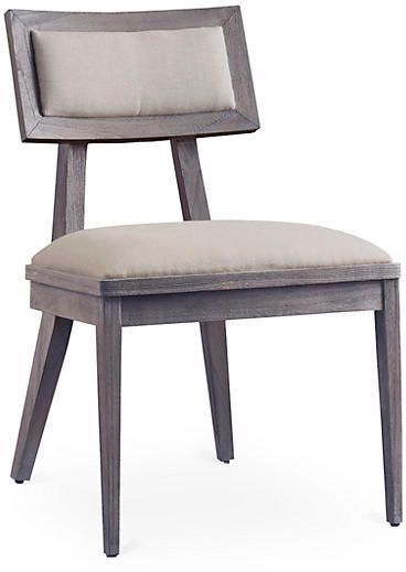 Adeline Side Chair - Driftwood - Brownstone
