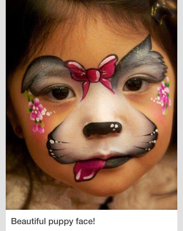 Cute Halloween Idea Halloween Ideas Face Painting Designs Dog