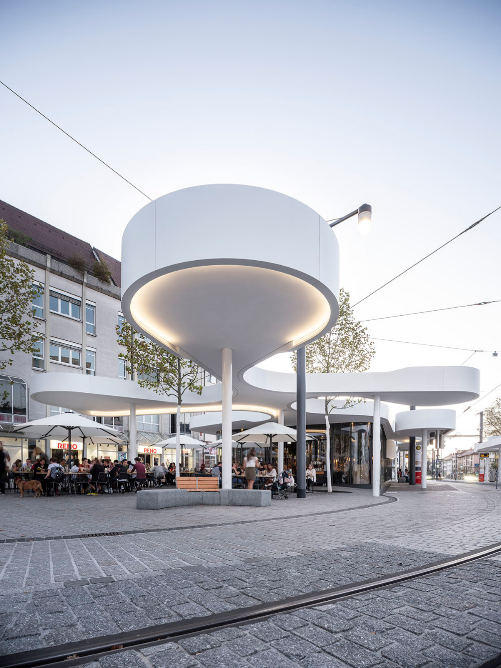 Photo of J.Mayer H completes freestanding pavilion in Freiburg, Germany