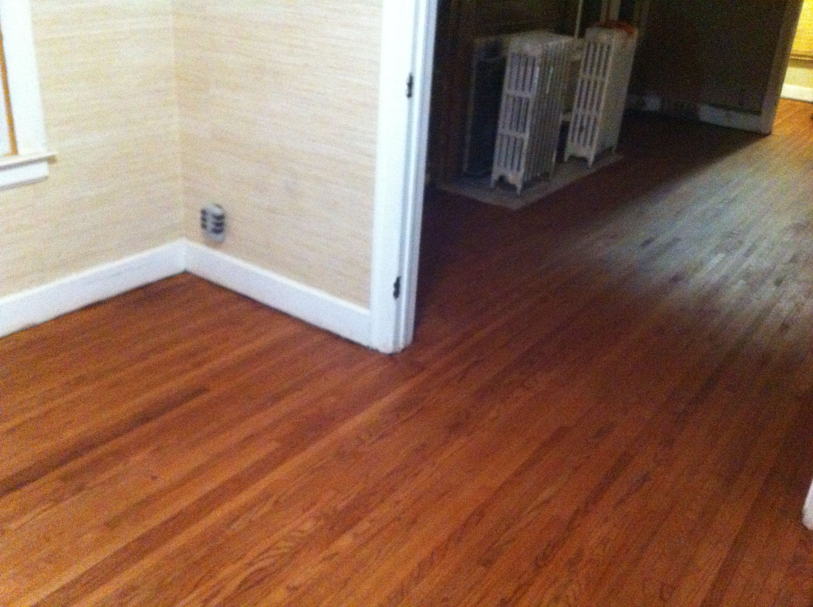 1 25 Quot Strip Red Oak With 75 Cherry 25 English Chestnut