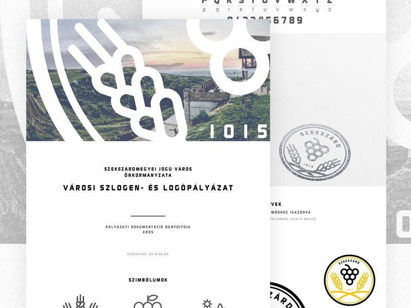Szekszard. Logo design concept