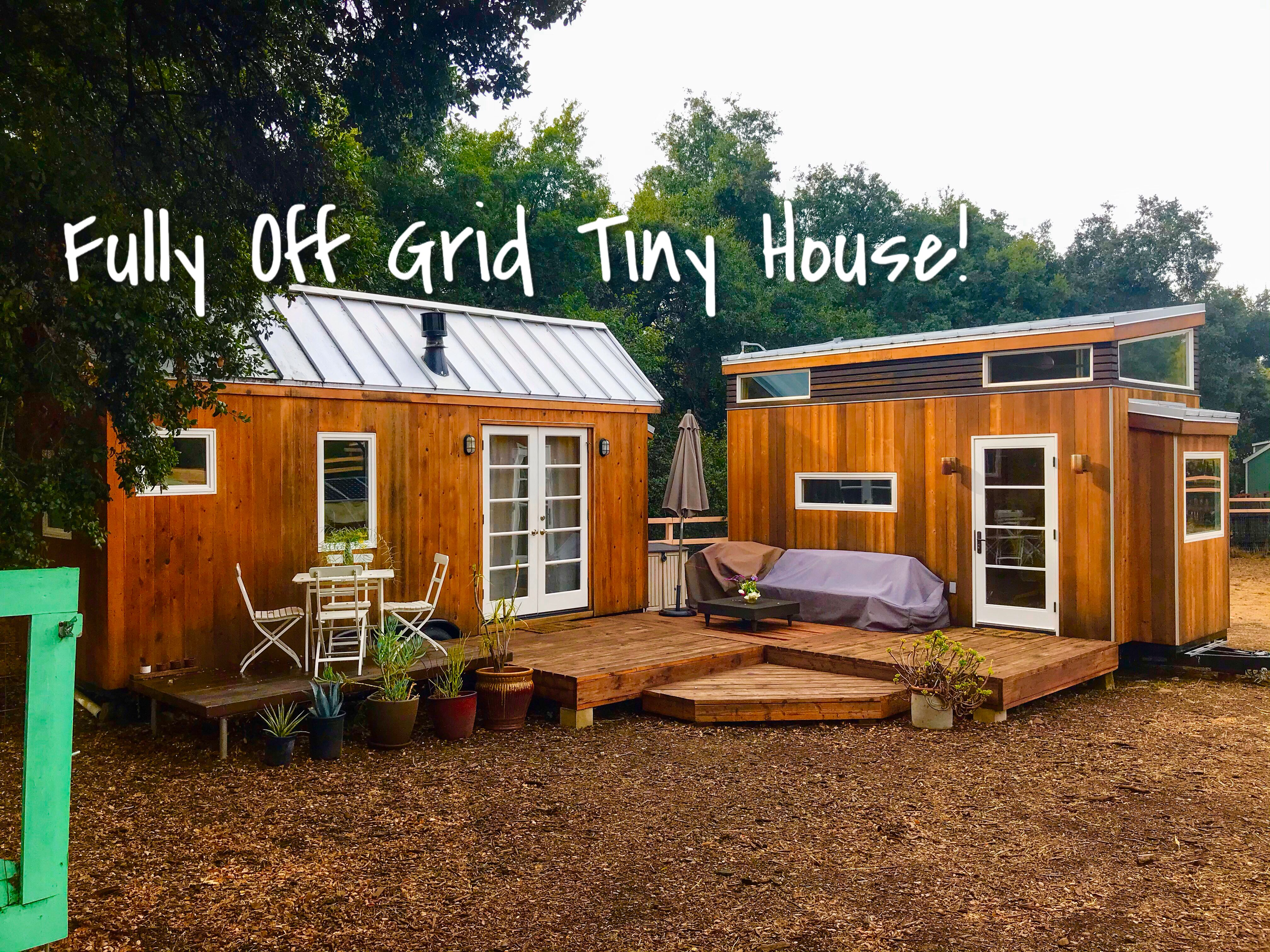 Take A Quick Tour Of The Beautifully Designed Off Grid Sol Haus Designed Built By Vina Lustado In 2020 Tiny House Builders Building Design House Styles